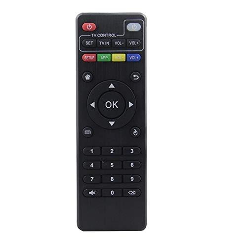 Shy-RC Ajuste de Control Remoto IR para la Caja de TV de Android H96 Pro + / M8N / M8C / M8S / V88 / X96 / MXQ / T95N / T95X / T95 Reemplazo del Control Remoto (Color : 5PCS)