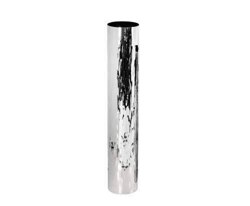 EDZARD Vase, Dekovase Ella, Edelstahl, Höhe 56 cm, Durchmesser 10 cm