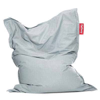 Fatboy Original Outdoor Beanbag/Poltrona a Sacco | Pouf Classico per Esterni | Cuscino di Seduta | Blu Acqua (Mineral Blue) 180 x 140 cm