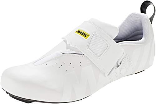 MAVIC Cosmic Elite Tri Schuhe White Schuhgröße UK 8 | EU 42 2020 Rad-Schuhe Radsport-Schuhe