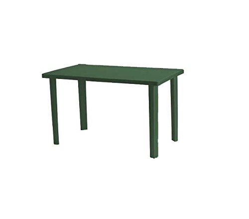 Viscio Trading Marshall Tavolo, Verde, 120x70x6 cm