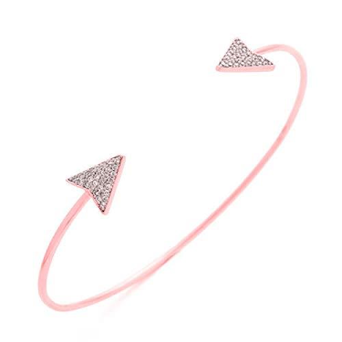 LXT Pulsera 2019 Ajustable Cristal Doble Corazón Bowknot Wrap Pulseras Mujeres Joyería Regalo Venta al por Mayor en Pulseras Wrap de Joyería y Accesorios en AliExpress