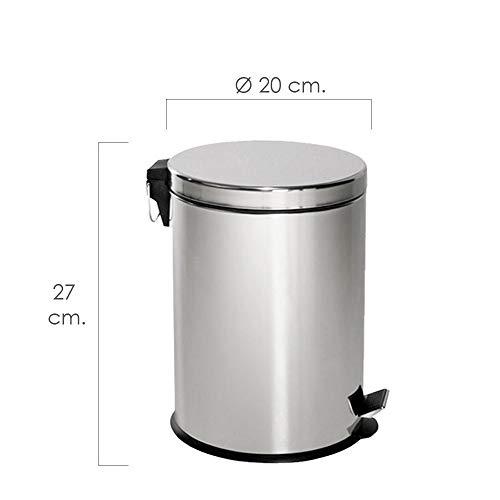 Cocina Size : 30L Lszdp-Oficina Papelera Cubos de Basura Pedal Bin Home Cocina con Tapa Basurero Pedal Basurero for Dormitorio Oficina Hogar Sala