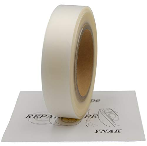 YNAK テント ザック タープ シート レインウェアー 補修 メンテナンス 用 強力 シームテープ アイロン式 説明書付き (幅20mm×長さ30m)