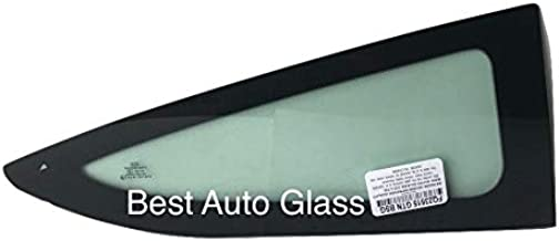 NAGD Compatible with 2008-2012 Honda Accord 2 Door Coupe Driver Left Side Rear Quarter Glass Quarter Window FQ23516GTN