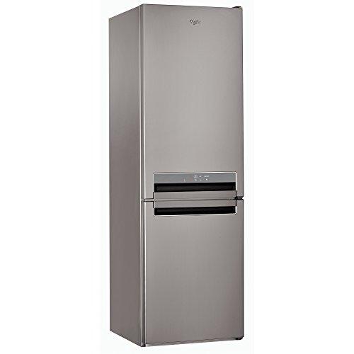 Whirlpool BSNF 8452 OX Libera installazione 316L A++ Acciaio inossidabile frigorifero con congelatore