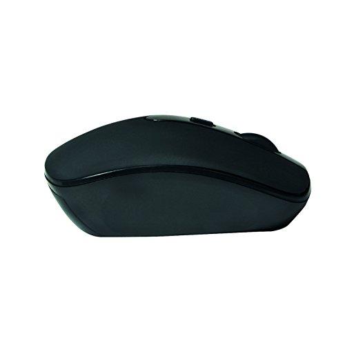 LogiLink ID0078A Optische Bluetooth Maus, 1000/1600 DPI schwarz
