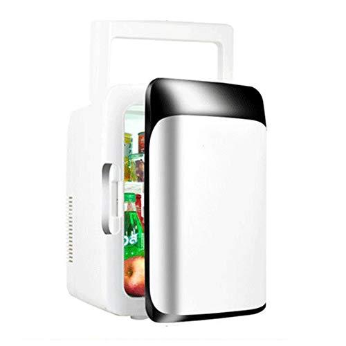 LYZL Auto-Kühlschrank, 10L Thermoelektrische Kühlbox, mit Silent Design, geringer Temperaturkältetechnik, Heizung 65 ° C, 45W, für DC12V / AC220V