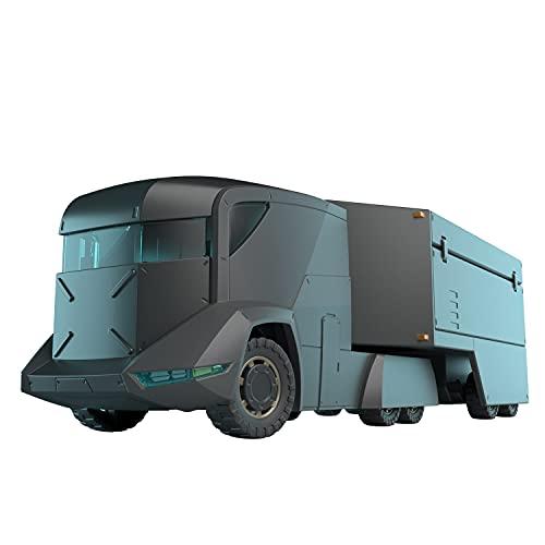 HG 境界戦機 特大型装甲特殊運搬車 1/72スケール 色分け済みプラモデル