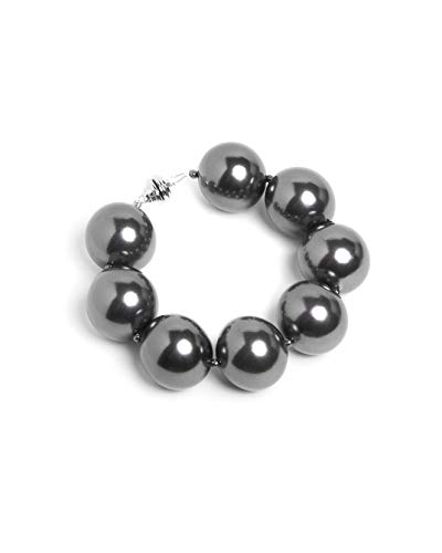 Hot Girls Pearls Sterling Grey Cooling Bracelet | Stylish Way to Stay Cool While Looking Hot | Free Insulated Travel Pouch Included with Every Item
