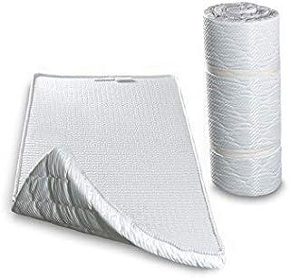 comprar comparacion Evergreenweb - Colchón Topper Enrollable - Soporte ergonómico – Esterilla - excelente colchón de pie para Ejercicios del S...