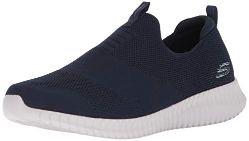 Skechers Mens Elite Flex-Wasik Slip On Sneaker, Blue (Navy), 10 UK (45 EU)