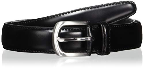 [マルショウ トウキョウ 1956] ベルト 国産コードバン 使い始めからウエストにフィットするしなやか&カーブ仕様 レザーベルト 日本製 メンズ MA-CP001AM ブラック ウエストサイズ:85cm