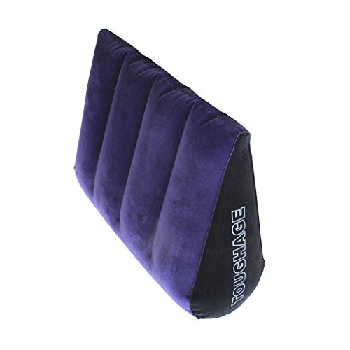 Cojín Inflable Multifuncional, Silla de Yoga -Cojín Mágico Portátil Almohada de Cuerpo Inclinado - Juguetes Triángulo