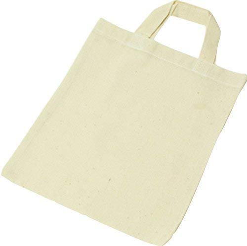ShirtInStyle 5x Sacchetto di farmacista Borsa di cotone sacchetto Shopper Borsa a tracolla Colore Naturale - naturale