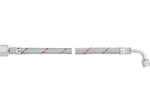 Ölschlauch einers. 3/8'' Überwurfmutter, anders. Rohrbogen SR 6 LL R 1000 lg. für Weishaupt WL 10/WL 20