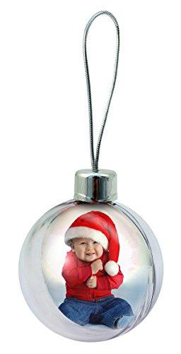 personalisierbar Weihnachtskugeln–4Stück