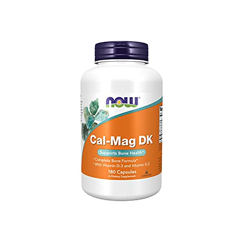 Now Foods Cal-Mag Dk - 180 Caps - 180 Cápsulas
