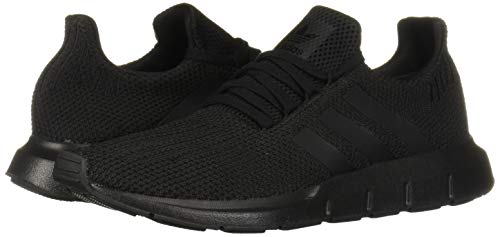 adidas Originals Men's Swift Run Sneaker, Black/Black, 9.5 M US 4
