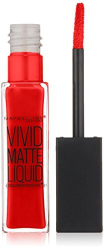 Maybelline New York Color Sensational Vivid Matte Liquid, Rebel Red, 0.26 Fluid Ounce by Maybelline New York