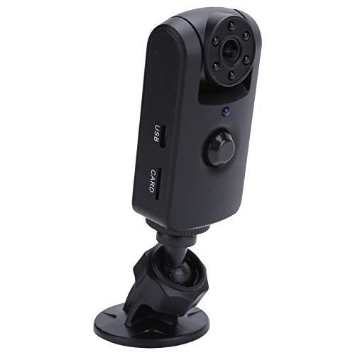 Pwshymi Cámara de Seguridad para el hogar de tamaño 64GB ABS con luz infrarroja Mini cámara Conveniente para Deportes al Aire Libre para Casas, oficinas, Tiendas, garajes