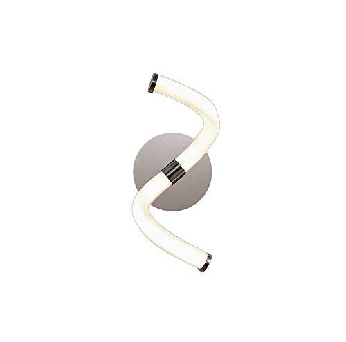 Aplique MANTRA NUR LINE cuadrado color blanco LED 12W - 3000K - 900 LMS. 16cm de altura