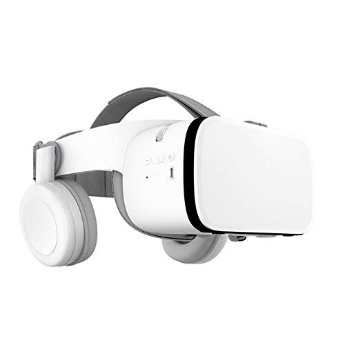 CYYMY VR Gafas de Realidad Virtual, para Juegos Visión PanoráMico Immersivo para Iph X/7/ 7plus /6s 6/Plus, Galaxy S8/ S7,Adecuado para Pantalla de TeléFono Inteligente de 4.7-6.0 Pulgadas