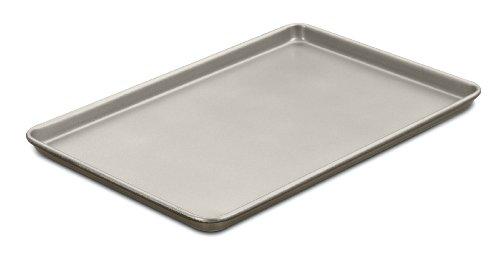 Cuisinart Chef's Classic Nonstick Bakeware 17-Inch Baking Sheet , Champagne