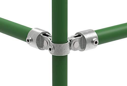 Fenau | Racor de unión/pieza de unión, 90°, doble, Ø 48,3 mm,...