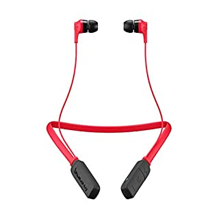 Skullcandy Ink'd Wireless Earbuds with Microphone, Red/Black (S2IKW-J335) (B01DWHPK5C)   Amazon price tracker / tracking, Amazon price history charts, Amazon price watches, Amazon price drop alerts