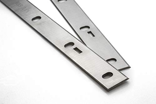 2 Stück Scheppach HT 1050 Abricht-Dickenhobel 254mm Hobelmesser
