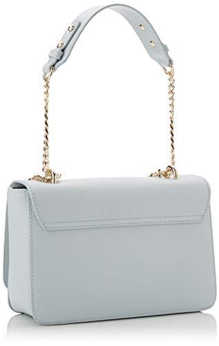 Versace Powder Blue Shoulder Bag-EE1VTBBN2 E904 for Womens