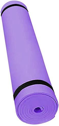 PPOSH Mat de ejercicios Mat de yoga Mat de yoga antideslizante Mat de yoga Mat de yoga Mat de fitness Jade Yoga Mat acolchado para fitness Pilates Gimnasia Ejercicio Mat Durable 173 x 61 x 0.4 cm Este