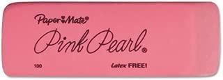 Paper Mate 70502 Pink Pearl Eraser, Medium, 3/Pack