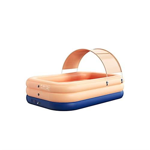 LYLY Aufblasbarer Pool mit Sonnenschutz,...