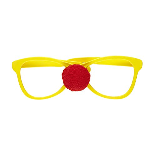 Widmann SA-1437N Riesige Brille mit Clownsnase