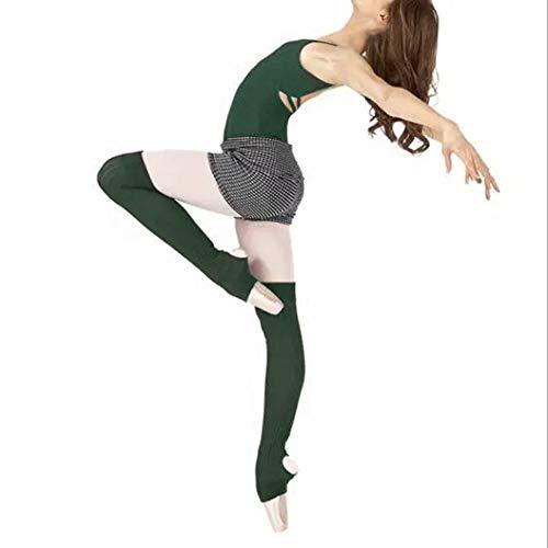 MXYXY – Calcetines de Entrenamiento para Adultos, Yoga, Ballet, Calcetines, Calcetines, Calcetines de Entrenamiento sobre la Rodilla, Calcetines, Medias, alianzas, Yoga, Correr, Calcetines, Verde