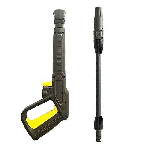 Frunimall Pistola y Lanza Lavadora a Presión para Karcher, Arandela de Alta Presión Pistola de Disparo y Lanza de Conexión Rápida, 150 bar 2200 PSI para Karcher K2 K3 K4 K5 K6 K7 (02)