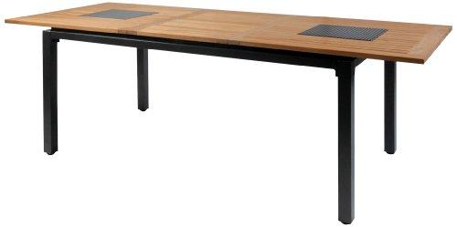 Hartman Hartman 62417210 Concept Tisch 210/160 x 90 cm, alu-teak Extension