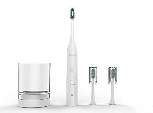 Cepillo de dientes eléctrico Sonic con irrigador bucal, 3 modos, recargable, con...