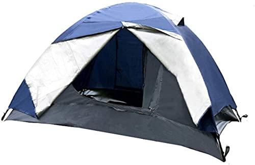 Ankon Portátil Familia Camping Tienda de campaña Tienda al Aire Libre Doble Decker Suministros Protector Solar Pareja Impermeable Camping Tienda Tienda Tienda de Viaje para Mochilero Pesca