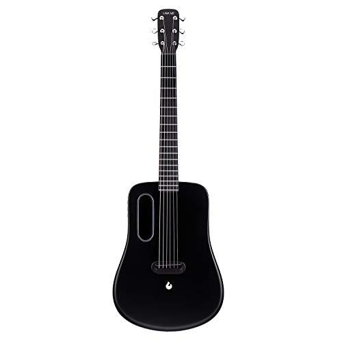 LAVA ME 2 Carbon Fiber Guitar with Effects 36 Inch Acoustic Electric Travel Guitar with Bag Picks and Charging...