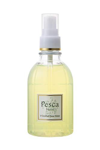 Pesca (ペスカ) 【 Vカクテルベースウォーター 】導入保湿美容水 4種のビタミン 浸透型ヒアルロン酸 パントエア (イタリア産レモンエッセンシャルオイル配合) 200ml