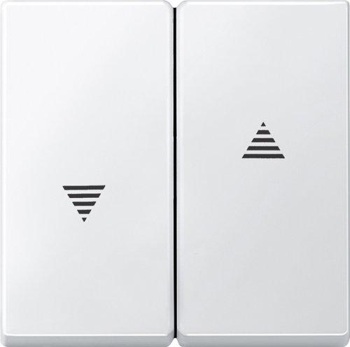Merten 435519 Wippe für Rollladenschalter und -taster, polarweiß, System M