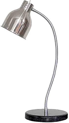 Lámpara de calefacción para escritorio, calefacción, restaurante, altura regulable, lámpara de visualización alimentaria regulable con buffet lámpara de aislamiento de temperatura