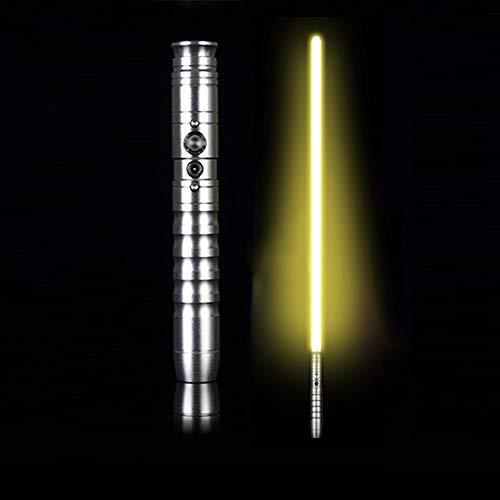 JLKJBH Laserschwert Simulation Soundeffekt (Silbergriff)