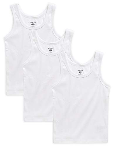 Vaenait Baby 2-16 años Niños Unisex jóvenes 100% algodón Unterhemden Sparpack (2, 3, 5 Pack)