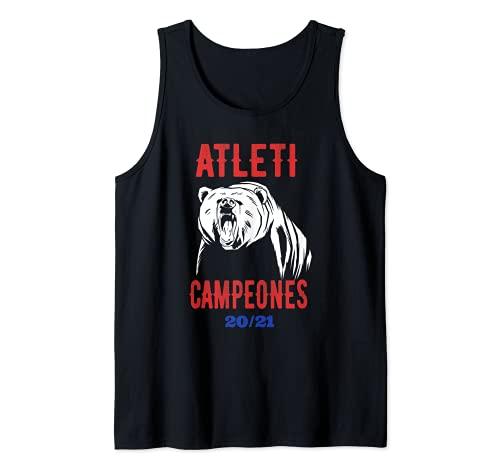 Atleti Campeones 20 21 Camiseta sin Mangas