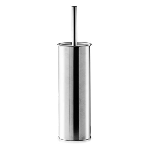 Zeller 18401Spazzolino per WC in Acciaio Inossidabile ø 13cm x 38.5cm