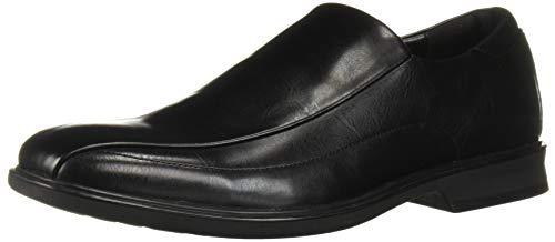 Kenneth Cole REACTION Men's Stellan Slip On Loafer, Black, 10 M US